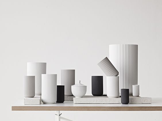 Le vase Lyngby de Lyngby Porcelæn  - design danois