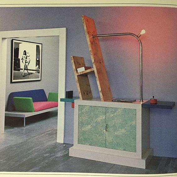 Karl Lagerfeld Memphis 1984