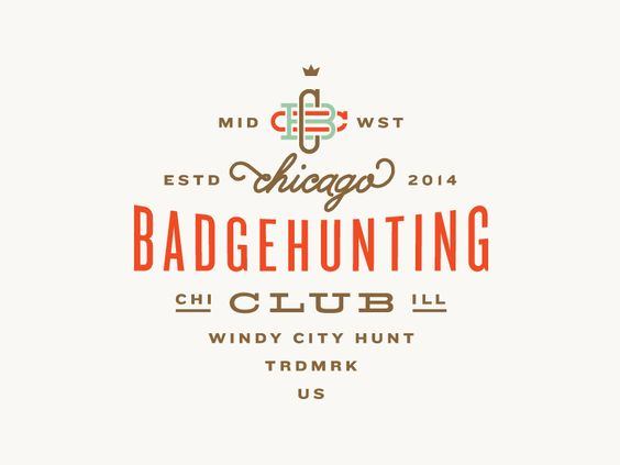 Chicago Badgehunting Club by Allan Peters