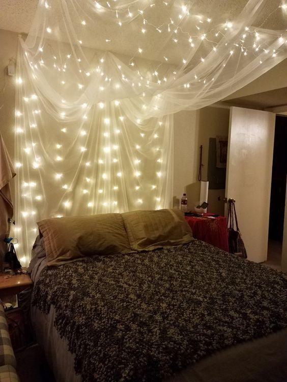 63 Beautiful Bedroom Decorating Ideas In 2020 Beautiful Bedrooms Led Lighting Bedroom Aesthetic Bedroom