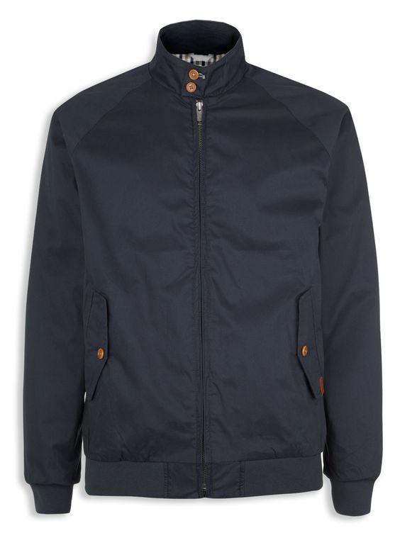Ben Sherman - Klassische Harrington-Jacke (Navy) - 110,00 €