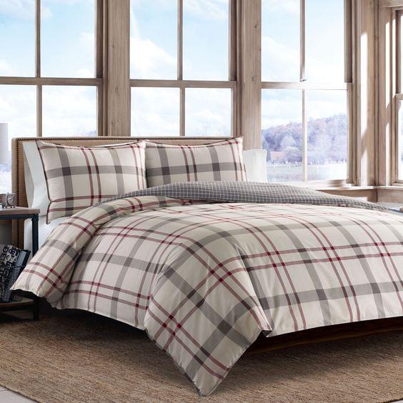 Eddie Bauer Portage Bay Cotton Comforter Set - 19139712 - Overstock.com Shopping…