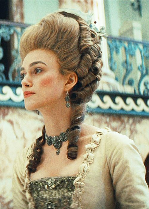 The Duchess Of Devonshire Historical Hairstyles The Duchess Of Devonshire Victorian Hairstyles