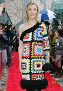 oh, Cate, Cate, Cate - who talked you into wearing this?