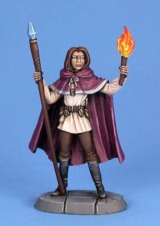 Dark Sword - Easley Masterworks - DSM4106 - Female Mage - Jeff Grace