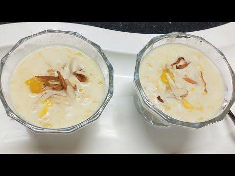 Mango Rabri आम क लच छ द र रबड Mango Milk Sweet Rabdi Youtube In 2020 Mango Recipes Rabdi Recipe Authentic Recipes