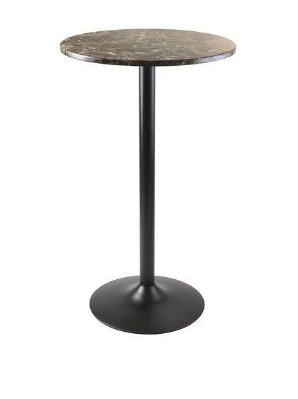 Luxury Home Cora Modern Round Pub Bar Table, Black, http://www.myhabit.com/redirect/ref=qd_sw_dp_pi_li?url=http%3A%2F%2Fwww.myhabit.com%2Fdp%2FB01BHT2JBA%3F