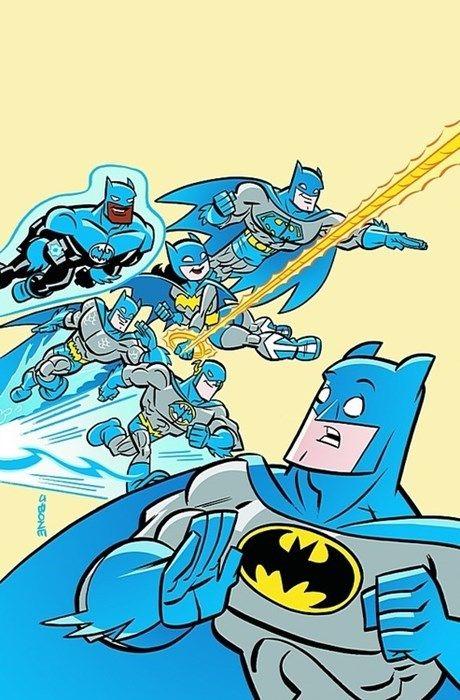 Todo mundo quer ser como o Batman