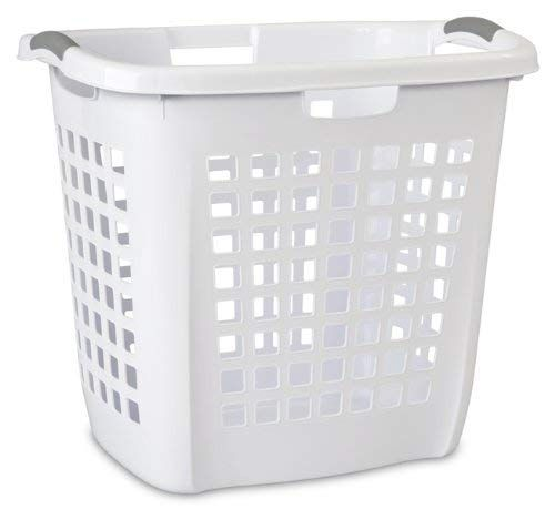 Sterilite 12258004 Ultra Easy Carry Hamper White Hamper W