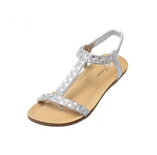 Forever Calista-55 Womens Open Toe Rhinestones T-strap Sandals Bling Bling Flexible Flat Shoe (10, Silver) Titan Mall http://www.amazon.com/dp/B00TJF191Q/ref=cm_sw_r_pi_dp_vfVTvb1Z10F9K