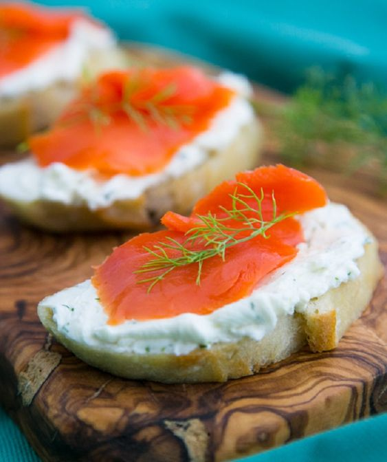 Top 10 canap recipes for a great party smoked salmon for Appetizer canape
