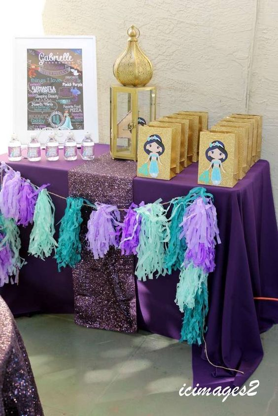 Princess Jasmine Birthday Party Ideas | Photo 8 of 30 | Catch My Party: