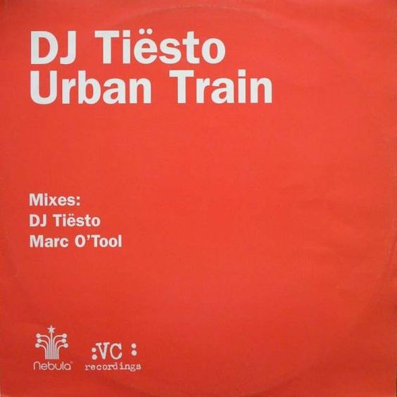 Tiësto, Kirsty Hawkshaw – Urban Train (single cover art)