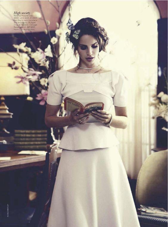 Lana Del Rey by Nicole Bentley   Vogue Australia October 2012