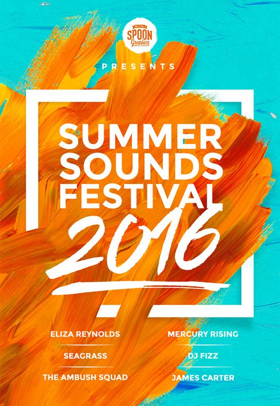 Create a Music Festival Poster Design in Photoshop « Design Cuts