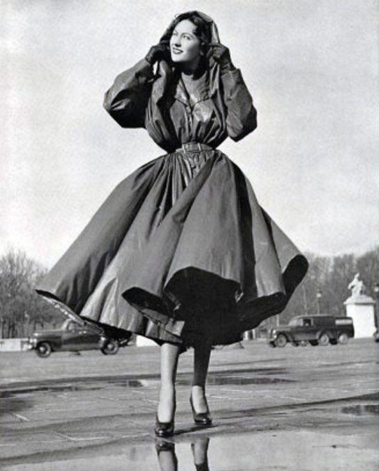 Raincoat Balenciaga And Vintage Fashion Style On Pinterest