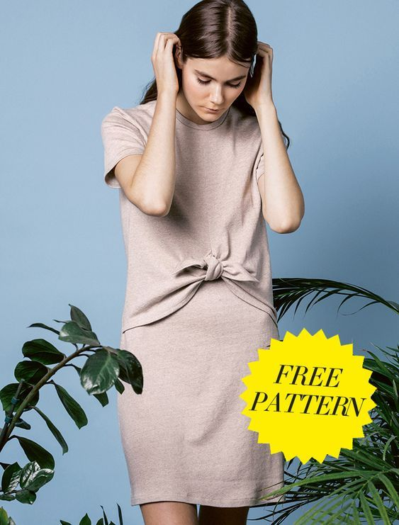 PDF SEWING PATTERNS | On the Cutting Floor: Printable pdf sewing patterns and tutorials for women