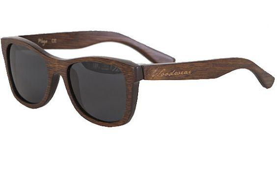 Wooden Sunglasses! Etsy!