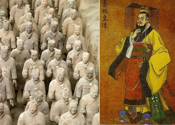 genghis khan and qin shi huang Ghengis khan's war strategies  these are some of the most important wars in human history qin's wars of unification were begun by qin shi huang over 2,200 years .