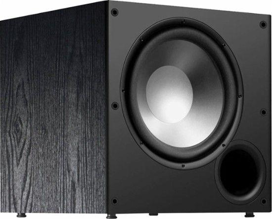 Polk Audio Psw Series 10 Active Subwoofer Black Psw 108 Best Buy Polk Audio Powered Subwoofer Cool Things To Buy