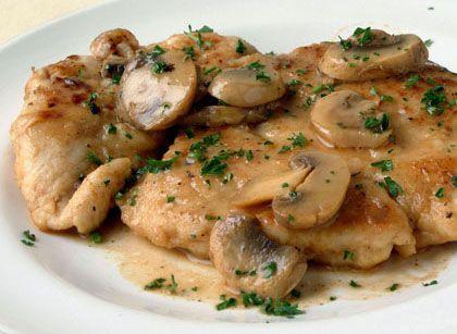 Lightened-up chicken marsala | HellaWella