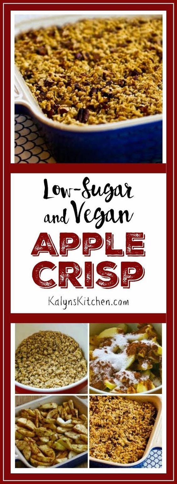 Vegan apple crisp, Apple crisp and Vegans on Pinterest