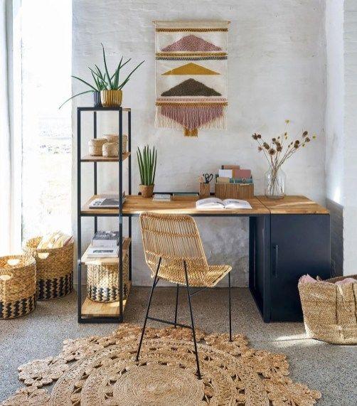 bureau chene mobilier de salon