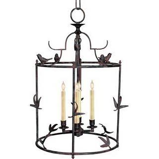 Check out the Visual Comfort CHC3108R Chart House 4 Light Perching Bird Lantern…