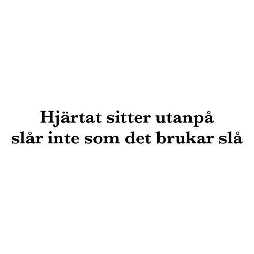 Endast Svenska Instagram Citat