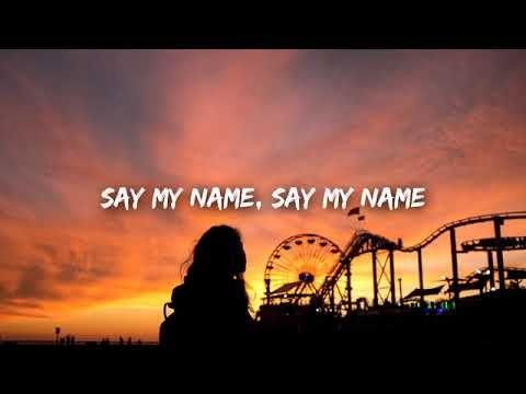 David Guetta Say My Name Lyrics Ft Bebe Rexha J Balvin Youtube Say My Name David Guetta Bebe Rexha