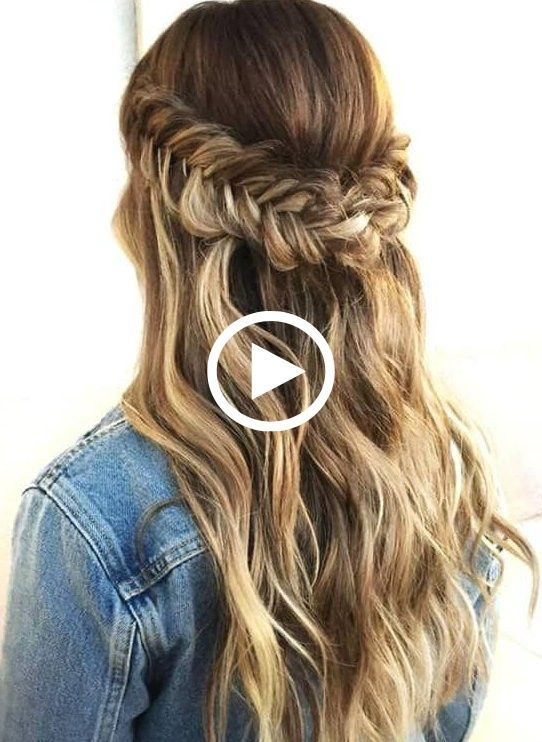 Casual Hairstyles For Going Out Casual Hairstyles Tutorial Cute Casual Hairstyles Casualhairstylesforda Going Out Hairstyles Casual Hairstyles Hair Styles