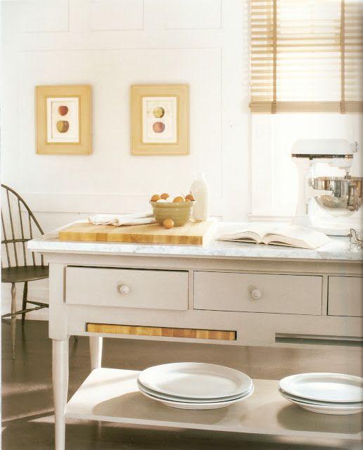 Martha Stewart Turkey Hill Cabinets: Martha Stewart For Bernhardt Westport Kitchen Island