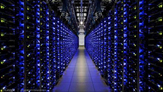 Google: virtueller Rundgang durchs Rechenzentrum - Internet - Bild.de