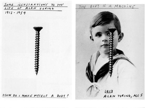 Alan Turing, age 5
