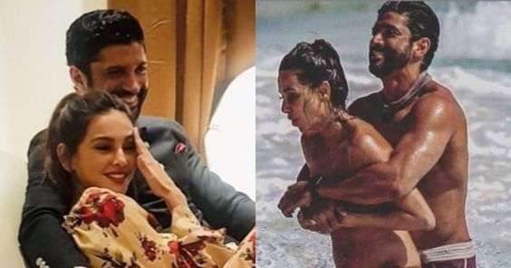 Farhan Akhtar and Shibani Dandekar's steamy pictures from their beach vacation is going viral Farhan Akhtar, Shibani Dandekar #Farhan_Akhtar, #News #Farhan_Akhtar, #Shibani_Dandekar