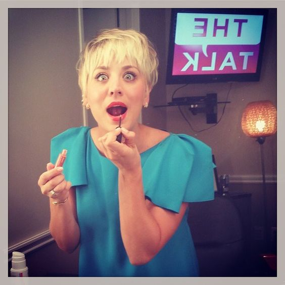 Keepin it real and spastic as usual on #thetalk this morning