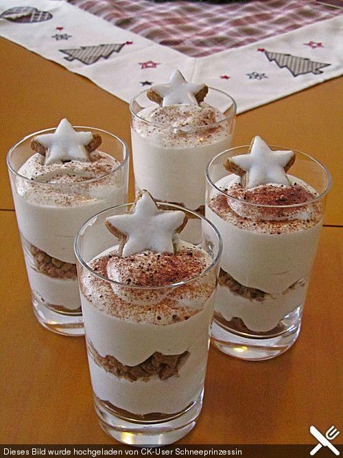 Mascarponecreme mit Zimtsternen, ein sehr leckeres Rezept aus der Kategorie Dessert. Bewertungen: 58. Durchschnitt: Ø 4,5.