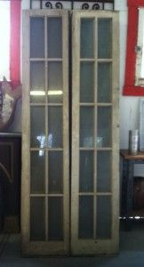 Solid Southern Pine Interior French Doors Rescued From The Don Vincente In Historic Ybor City