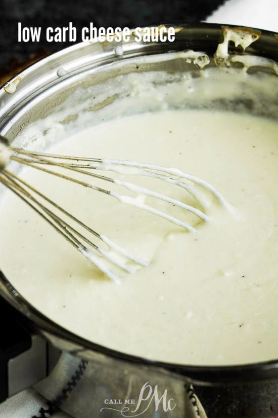 Low Carb Cheese Sauce Has No Cream No Flour And No Velveeta