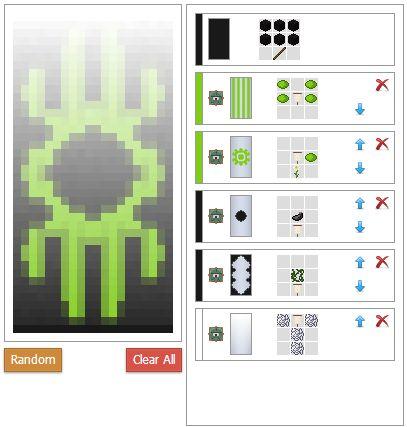 Minecraft Custom Crafting Recipe Generator   X