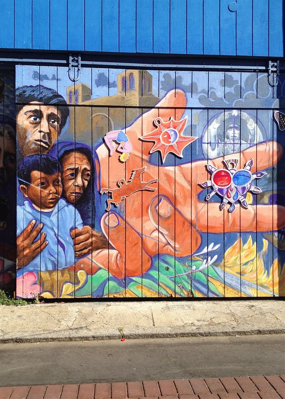 mural - san francisco, mission district
