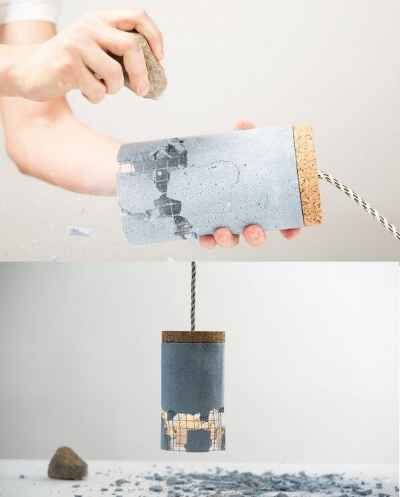 Lampe à briser par Ubikubi - Blog Esprit Design