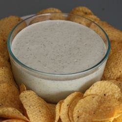 Creamy Jalapeno Dip ,1 cup mayo,1/3 cup buttermilk,1/3 cup sour cream, 4oz can diced jalapeño, 4oz can diced green chili, 1/3 c chopped cilantro, 1oz pkt dry ranch mix, 1/2 t minced garlic. Blend in blender. Serve with chips or veggies, delicious