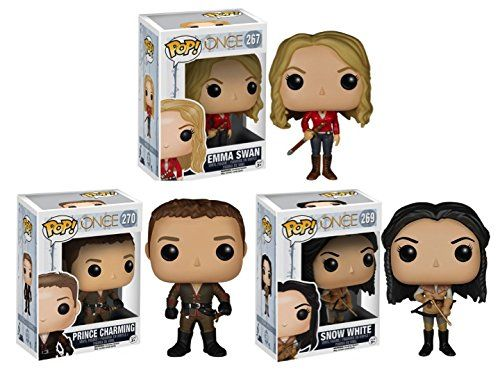 Amazon Com Funko Pop Tv Once Upon A Time Hero Family Emma