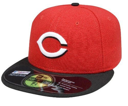MLB Cincinnati Reds Authentic On Field Road 59FIFTY Cap by New Era. $18.49