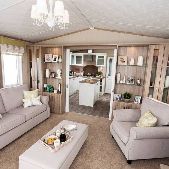 Knightsbridge Static Caravan Living Room