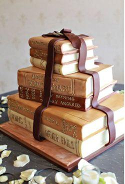 Book Cake.