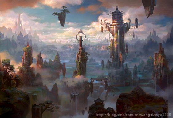 Concept Art: 2012.6.1 wang xiaoyu