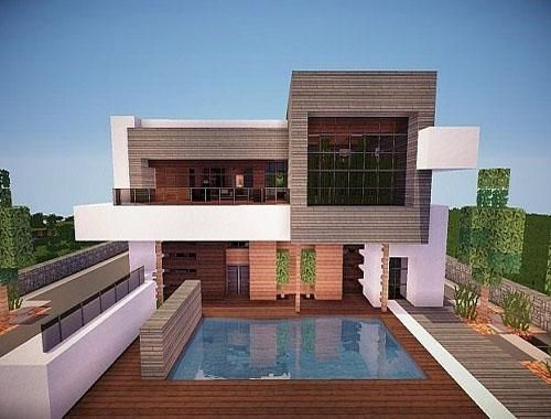 Unique Minecraft House Ideas 2020 Thegameroof Minecraft House Tutorials Minecraft Modern Modern Minecraft Houses