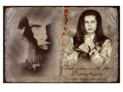 Interview with the Vampire  1994.  Russian poster.